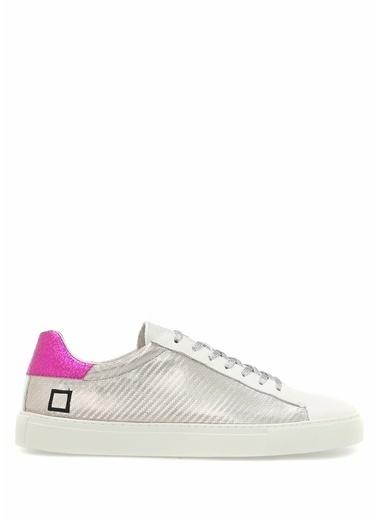 D.A.T.E. Lifestyle Ayakkabı Gümüş
